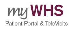 myWHS Patient Portal