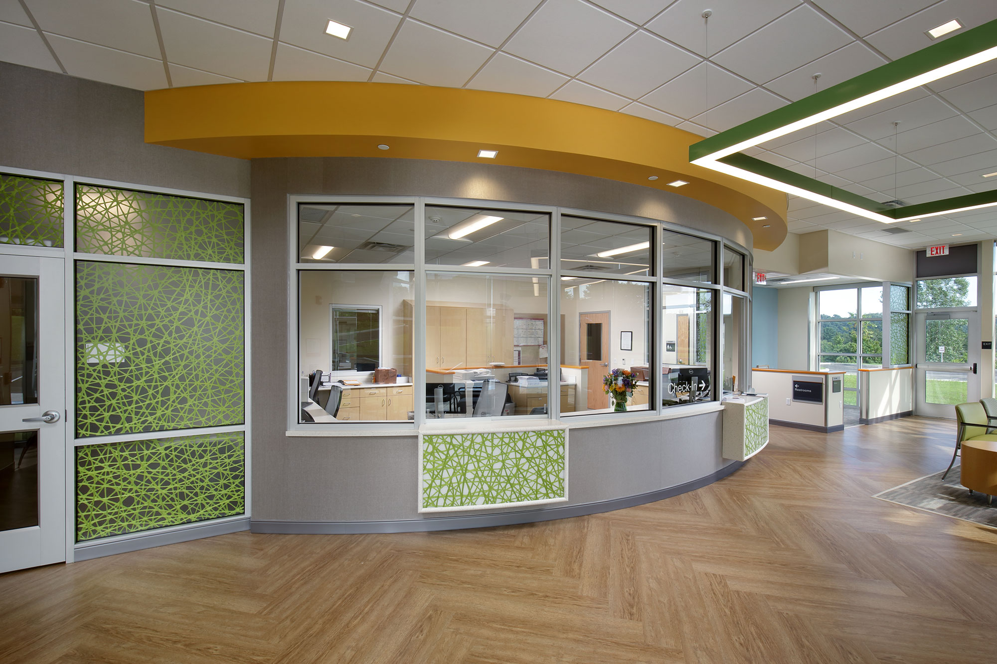 Interior of Outpatient Center California