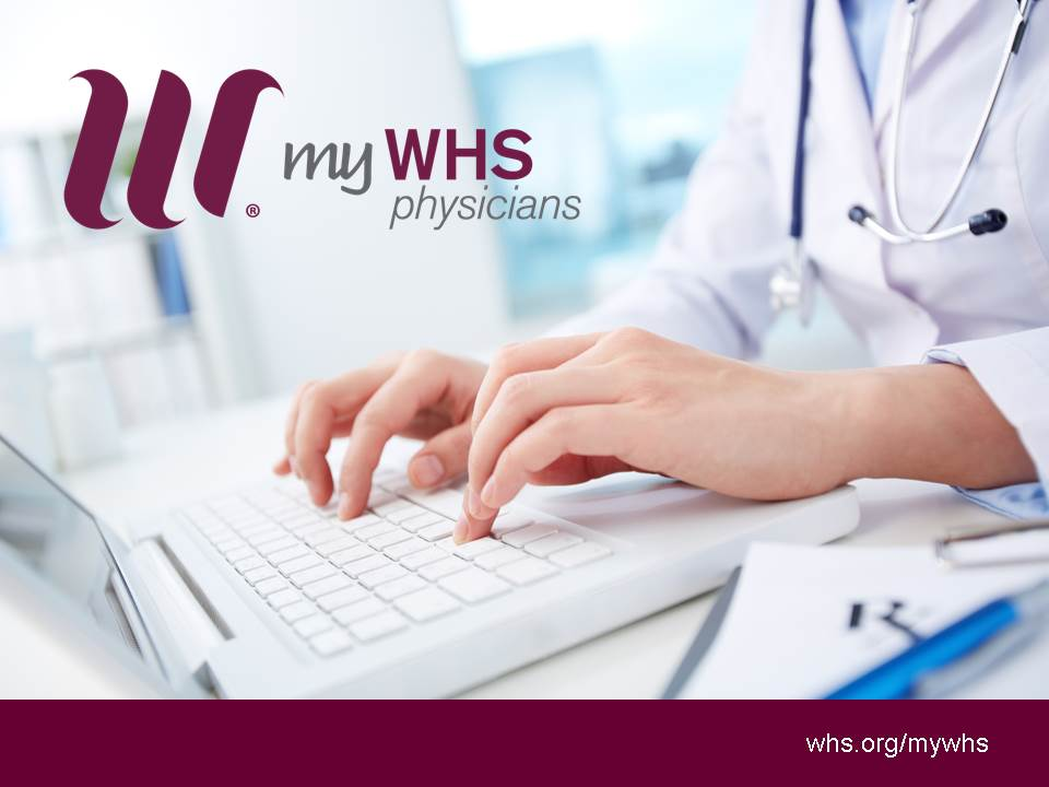 Exciting news for the myWHS Patient portal!