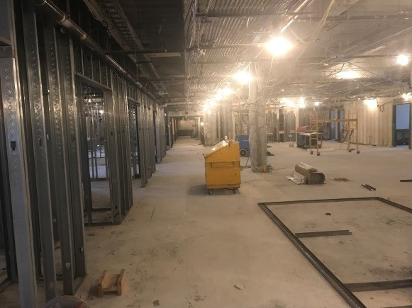 Construction (View of Patient Rooms)