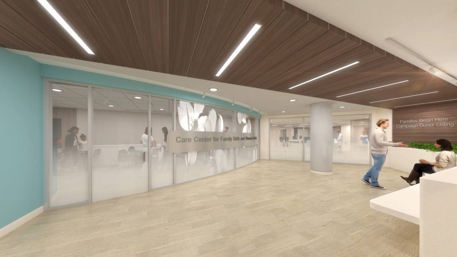 Renderings of the Lobby