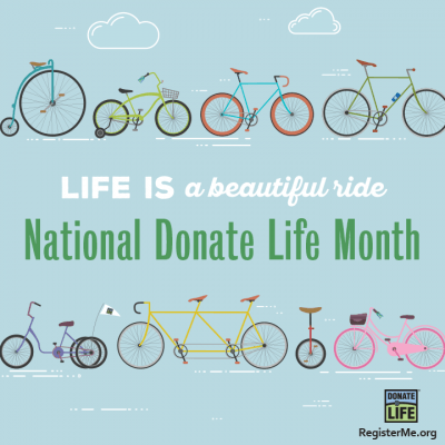 April - Donate Life Month