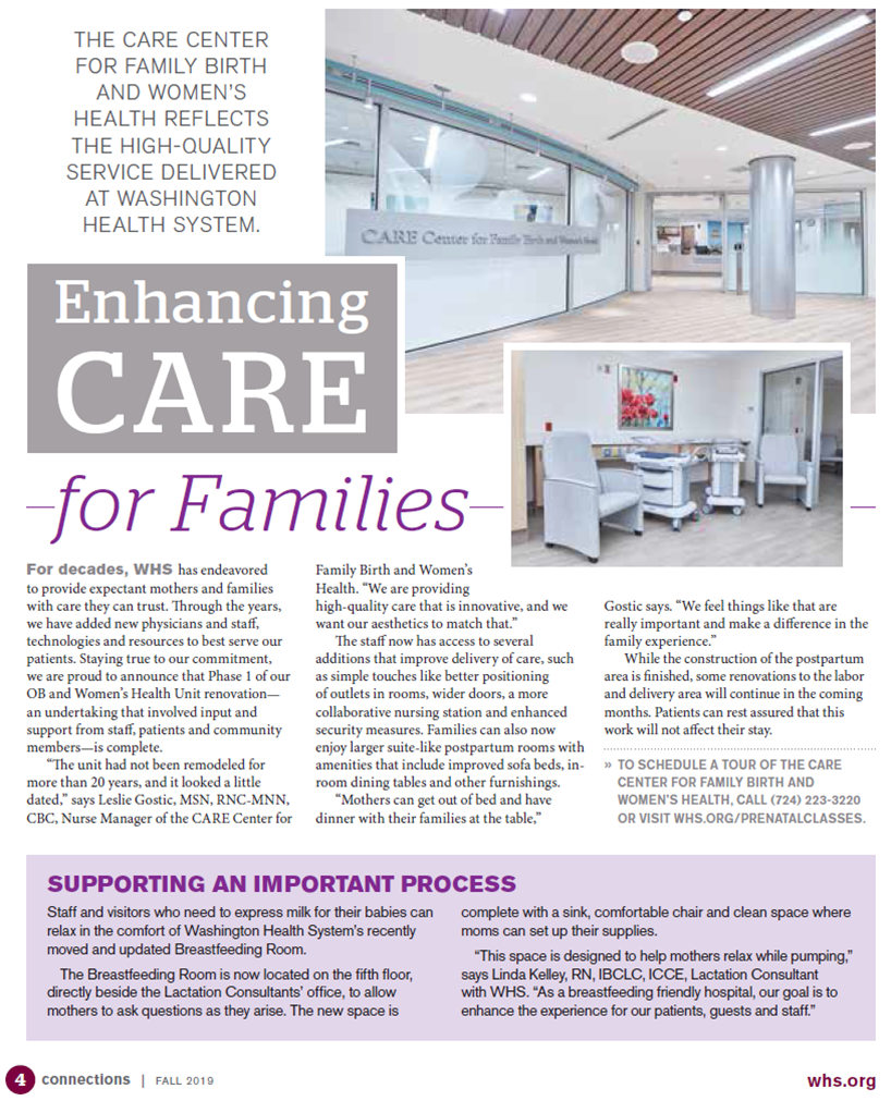 Enhancing Care for Families