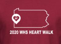 2020 WHS Heart Walk Tshirt